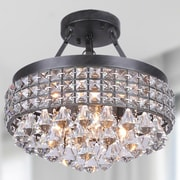 JoJoSpring Antonia 4-Light Semi Flush Mount