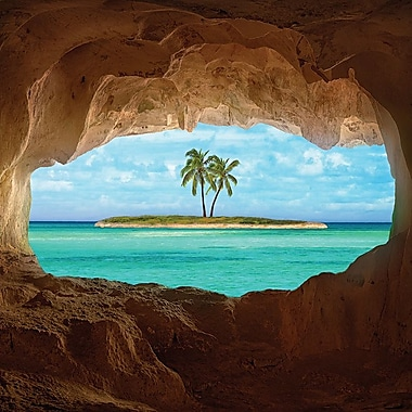 Latitude Run Paradise Photographic Print on Wrapped Canvas; 37'' H x 37'' W x 0.75'' D