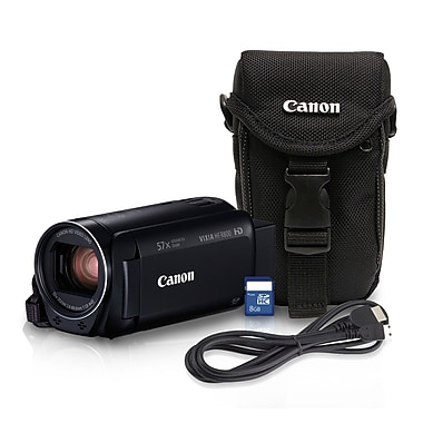 Canon VIXIA HF R800 HD Digital Camcorder, 32x Optical/57x Advanced Zoom, Black (1960C014)