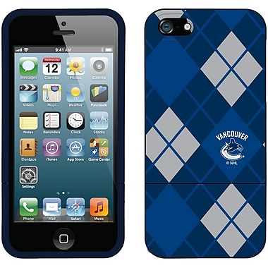 NHL Vancouver Canucks Cell Phone Fitted Case for Apple iPhone 5S/SE, Blue (CV-NHL-I5-VCA-B)