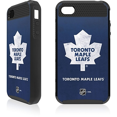 NHL Toronto Maple Leafs Cell Phone Fitted Case for Apple iPod Touch 4, Blue/White Away (CV-NHL-IT4-TMLA)