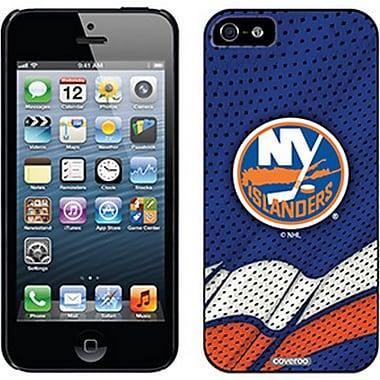 LNH - Étui ajusté pour Apple iPhone 5/5S, Islanders de New York, bleu - à domicile (CV-NHL-IP5-NYIH)