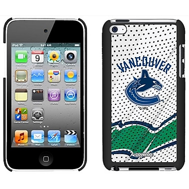 NHL Vancouver Canucks Cell Phone Fitted Case for Apple iPod Touch 4, Black Away (CVR-NHL-IT4-VCA)
