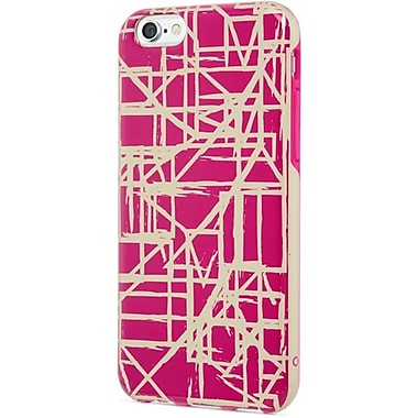 Contour Bliss Cell Phone Fitted Case for Apple iPhone 6/6S, Pink/Gold (CDB-231022)