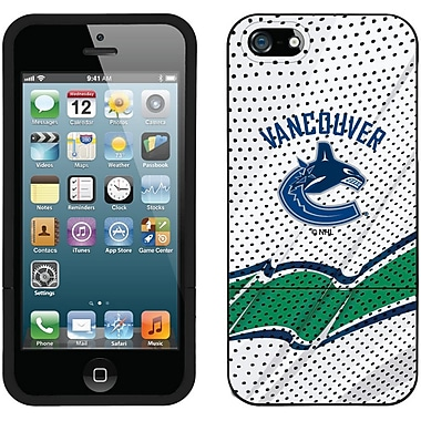 NHL Vancouver Canucks Cell Phone Fitted Case for Apple iPhone 5S/SE, Black Away (CV-NHL-I5-VCJ-B)