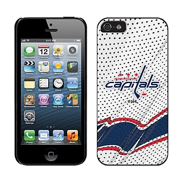 NHL Washington Capitals Cell Phone Fitted Case for Apple iPhone 5/5S, White Away (CVR-NHL-IP5-NPA)