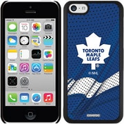 LNH - Étui ajusté pour Apple iPhone 5C, Maple Leafs de Toronto, bleu - à domicile (NHL-TS-IP5-TMLH)