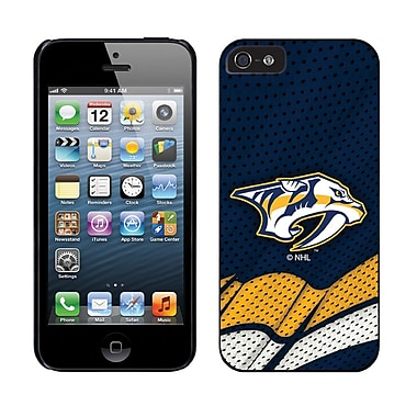 NHL Nashville Predators Cell Phone Fitted Case for Apple iPhone 5/5S, Blue Home (CVR-NHL-IP5-NPH)