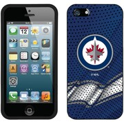 LNH - Étui ajusté pour iPhone SE, Jets de Winnipeg, bleu (CV-NHL-I5-WJA-B)
