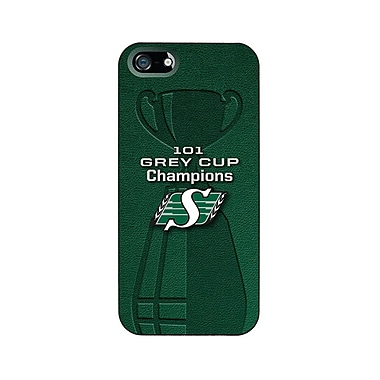 CFL Saskatchewan Roughriders Cell Phone Fitted Case for Apple iPhone 5C, Green (CFL-TS-IP5-SRGC)