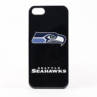 Skin-It - Étui ajusté LeNu pour iPhone 5/5S, Seahawks de Seattle, noir (IP5-NFL-SS)