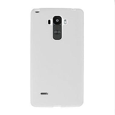 Zanko TPU Cell Phone Fitted Case for LG G Stylo, White (ZKT-LGSTY-WH)