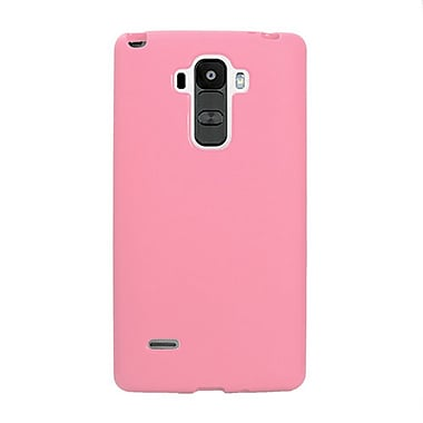 Zanko TPU Cell Phone Fitted Case for LG G Stylo, Pink (ZKT-LGSTY-PK)