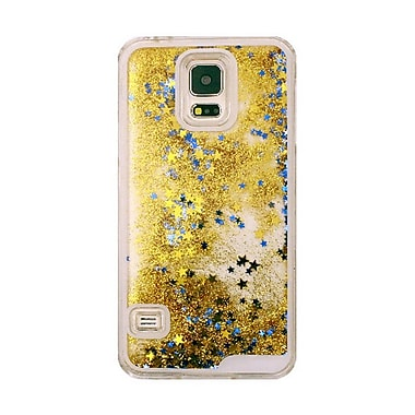 Zanko Moving Stars Cell Phone Fitted Case for Samsung Galaxy S5/S5 Neo, Gold (ZKH-MST-GS5-GD)