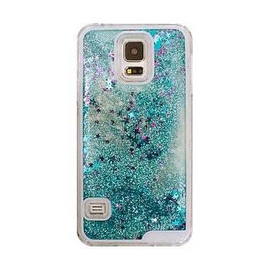 Zanko Moving Stars Cell Phone Fitted Case for Samsung Galaxy S5/S5 Neo, Blue (ZKH-MST-GS5-BL)