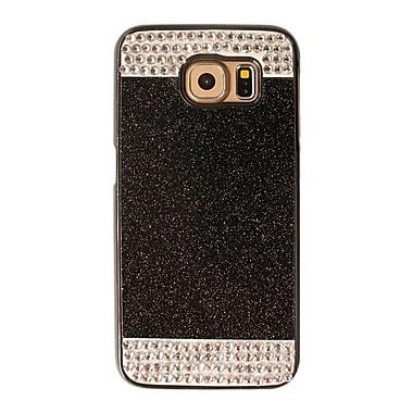 Zanko - Étui ajusté pour téléphone cellulaire pour Samsung Galaxy S6, noir (ZKH-RS-GS6-BK)