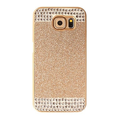 Zanko Shimmering Cell Phone Fitted Case for Samsung Galaxy S6, Gold (ZKH-RS-GS6-GD)