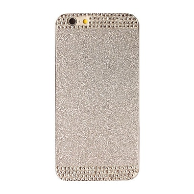 Zanko Shimmering Cell Phone Fitted Case for Apple iPhone 6/6S, Silver (ZKH-RS-IP6-SL)