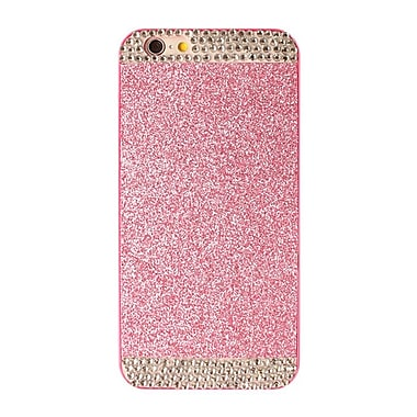 Zanko Shimmering Cell Phone Fitted Case for Apple iPhone 6/6S, Pink (ZKH-RS-IP6-PK)