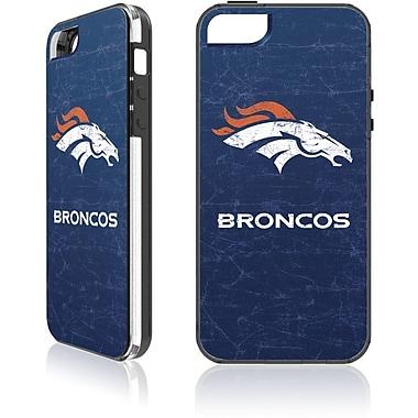 Skin-It Denver Broncos Cell Phone Fitted Case for Apple iPhone 5/5S, Blue (SI-LN-I5-NFL-DB)