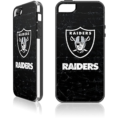 Skin-It - Étui ajusté pour iPhone 5/5S, Raiders d'Oakland, noir (SI-LN-I5-NFL-OR)