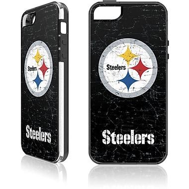 Skin-It - Étui ajusté pour iPhone SE, Steelers de Pittsburgh, noir (SI-LN-I5-NFL-PS)