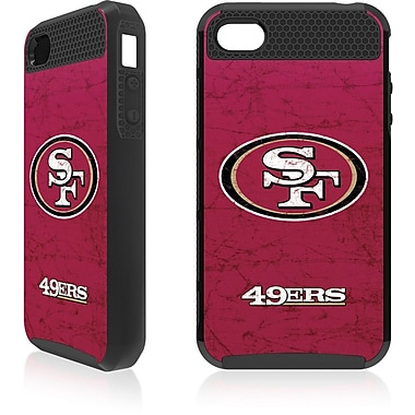 Skin-It San Francisco 49ers Cargo Cell Phone Fitted Case for Apple iPhone 4/4S, Black (SI-IP4-NFL-S49)