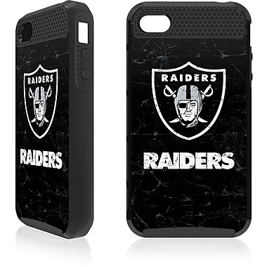 Skin-It - Étui ajusté Cargo pour iPhone 4/4S, Raiders d'Oakland, noir (SI-IP4-NFL-OR)