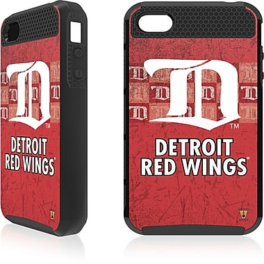 Skin-It Detroit Red Wings Cargo Cell Phone Fitted Case for Apple iPhone 4/4S, Black (SI-IP4-NHL-DRW)