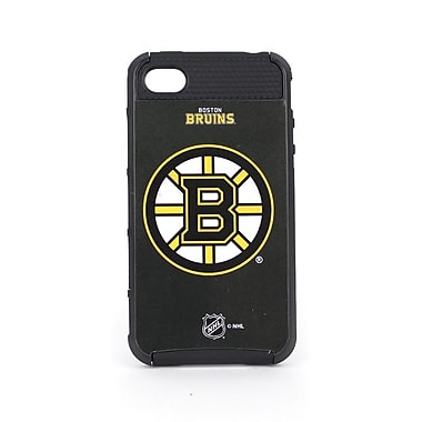 Skin-It - Étui ajusté Cargo pour iPhone 4/4S, Bruins de Boston, noir (SI-CG-I4-NHL-BB)
