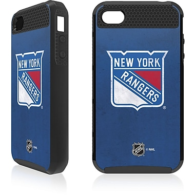 Skin-It New York Rangers Cargo Cell Phone Fitted Case for Apple iPhone 4/4S, Black (SI-IP4-NHL-NYR)