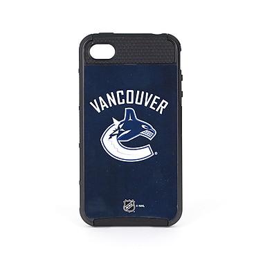 Skin-It - Étui ajusté Cargo pour iPhone 4/4S, Canucks de Vancouver, bleu marine (SI-IP4-NHL-VC)