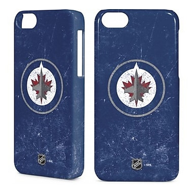 Skin-It Winnipeg Jets Cell Phone Fitted Case for Apple iPhone 5/5S, Navy (SI-LN-I5-NHL-WJ)
