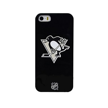 Skin-It Pittsburgh Penguins LeNu Cell Phone Fitted Case for Apple iPhone 5/5S, Black (SI-L-IP5-NHL-PP)