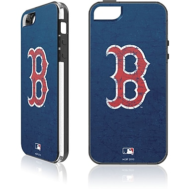 Skin-It - Étui ajusté pour iPhone 5/5S, Red Sox de Boston, bleu marine (SI-IP5-MLB-BRS)