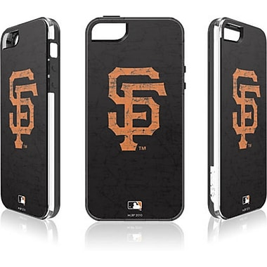 Skin-It San Francisco Giants Cell Phone Fitted Case for Apple iPhone SE, Black (SI-IP5-MLB-SFG)