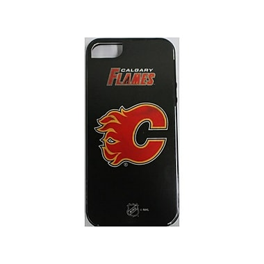 Skin-It Calgary Flames Cell Phone Fitted Case for Apple iPhone 5/5S, Black (SI-LN-I5-NHL-CF)