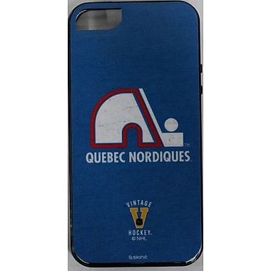 Skin-It Quebec Nordiques Cell Phone Fitted Case for Apple iPhone 5/5S, Blue (SI-LN-IP5-VT-QN)