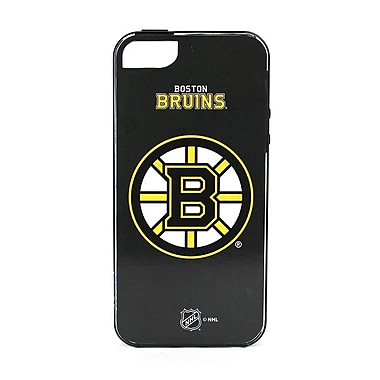 Skin-It Boston Bruins Cell Phone Fitted Case for Apple iPhone 5/5S, Black (SI-LN-I5-NHL-BB)