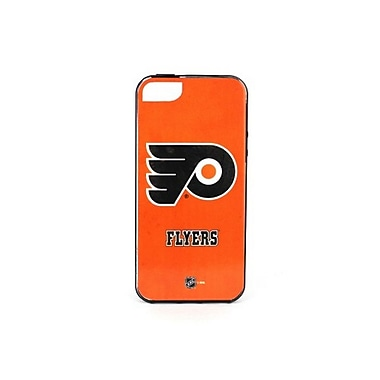 Skin-It Philadelphia Flyers Cell Phone Fitted Case for Apple iPhone SE, Orange (SI-LN-I5-NHL-PF)