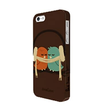 ArtsCase StrongFit Cell Phone Fitted Case for Apple iPhone 5S/SE, Birds (IP5S-AC1334174)