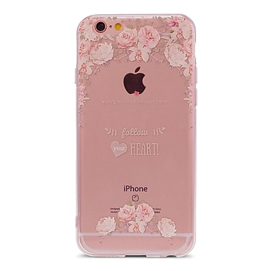 Zanko Cell Phone Fitted Case for Apple iPhone 6/6S, Follow My Heart (ZKT-IP6-FLR-FMH)
