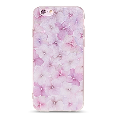 Zanko Cell Phone Fitted Case for Apple iPhone 6/6S, Violet Floral (ZKT-IP6-FLR-VLT)