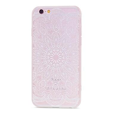 Zanko - Étui ajusté pour téléphone cellulaire Apple iPhone 6/6S, Indian White Henna (ZKT-IP6-FLR-IWH)