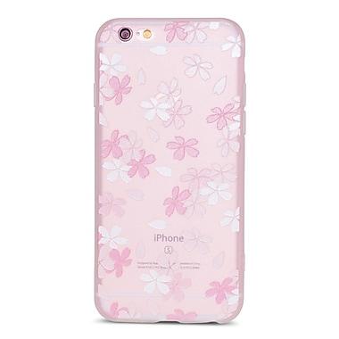 Zanko - Étui ajusté pour téléphone cellulaire Apple iPhone 6/6S, Small Lilly rose/blanc givré (ZKT-IP6-FLR-SLY)