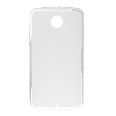 Zanko TPU Cell Phone Fitted Case for Google Nexus 6, Clear (ZKT-NX6-CL)