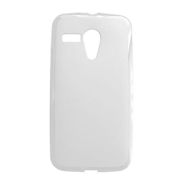Zanko TPU Cell Phone Fitted Case for Motorola Moto G, Clear (ZKT-MOTG-CL)