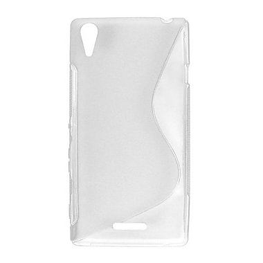 Zanko TPU Cell Phone Fitted Case for Sony Xperia T3, White (ZKT-SXT3-WH)