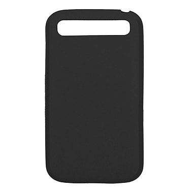 Zanko TPU Cell Phone Fitted Case for BlackBerry Classic, Black (ZKT-BBC-BK)