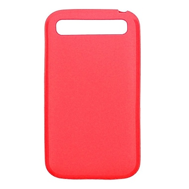 Zanko TPU Cell Phone Fitted Case for BlackBerry Z30, Red (ZKT-BBC-RD)